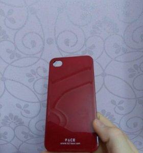 Чехол на телефон (iphone4,4s)