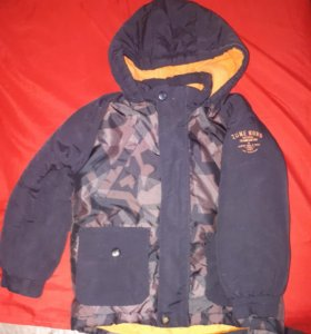 Куртка для мальчика до -15