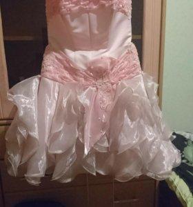 Платье 👗 розовое