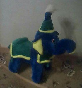 Детский Слон качалка