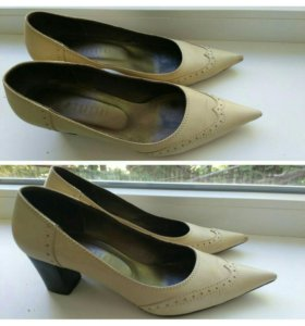Кожаные туфли р37