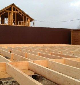 Строительство дома,заборы,септики,кисоны
