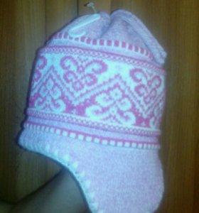 Новая шапка на девочку