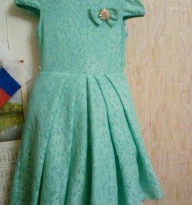 Платье для девочки 8-9 лет,рост 130