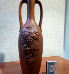 Глиняная бутыль