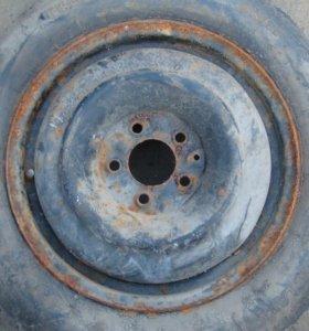Новое колесо-докатка гудьер+ 5х114.3 диск