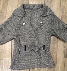 Кардиган пиджак теплый Италия