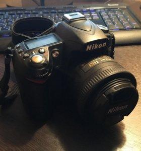 Объектив Nikkor 35 mm 1.8g dx