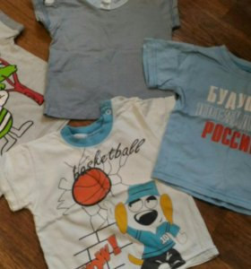 Футболки+ рубашка