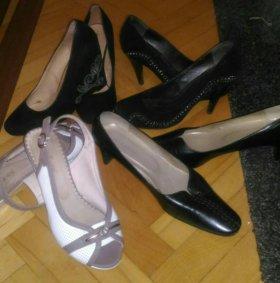4 пары летней обуви
