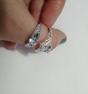Сережки и кольца