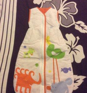 Детский спальный мешок икеа
