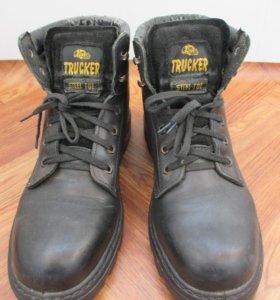 Ботинки с металлическим носом Trucker, 46 размер