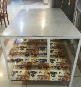 Столы кухонные ( нержавейка)