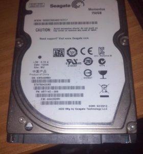 Hdd 750gb для ноутбука