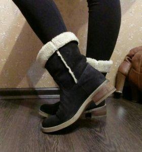 Ботинки- полусапоги.