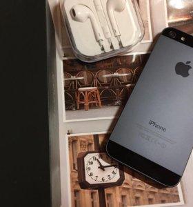 Iphone 5 16гб Черный