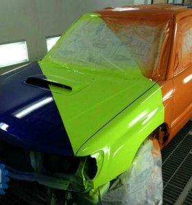 Покраска автомобиля.