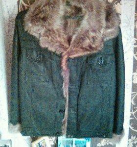 Куртка коженая