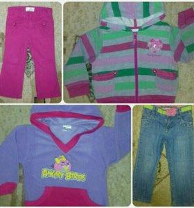 Одежда для девочки примерно до 2х лет