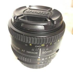 Объектив AF Nikkor (Nikon) 50mm f/1.8D