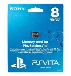 Карта памяти Memory Card PS vita 8Gb