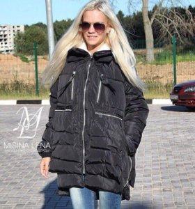 Чёрная Куртка-трансформер