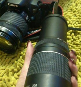 Canon  D650 два объектива 18-135 mm и 75-300 mm