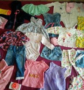 Вещи на девочку 80-86