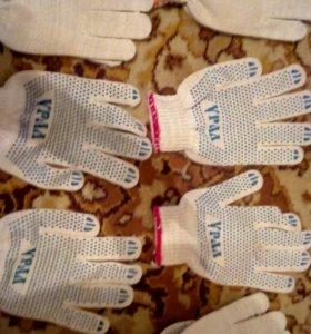 Продам перчатки новые 9 рублей пара.