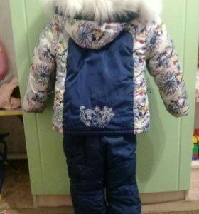 Зимний костюм + шапка