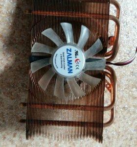 Радиатор с кулером на видеокарту