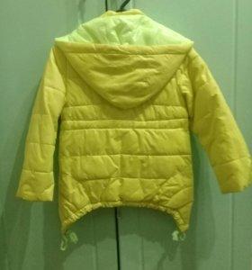 Деткая осенняя куртка.