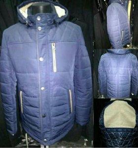 Куртки мужские зима мех