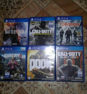 Игры для Sony 4