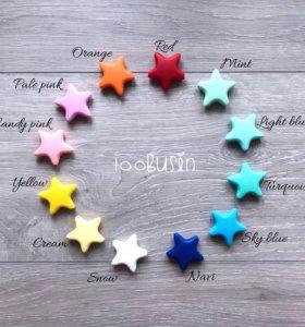 Звезда из пищевого силикона