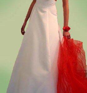 Новое свадебное платье xs-s