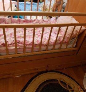 Кроватка-транформер