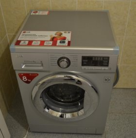 Стиральная машина LG 8 кг F1296 TD4