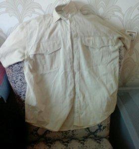 Рубашка мужская xxxl