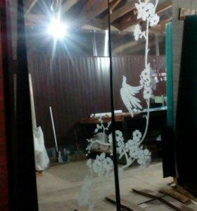 Резка  продажа стекла и зеркал изготовления багето