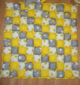 Коврик бонбон, одеяло бонбон