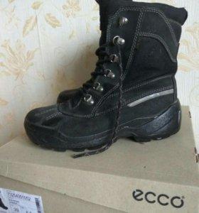 Зимние ботинки ECCO 38-38.5