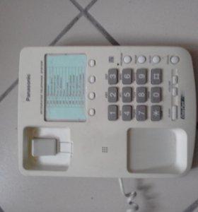 Проводной телефон Panasonic KX-TS10MX-W