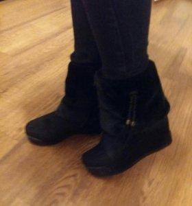 Ботинки зима 37 размер