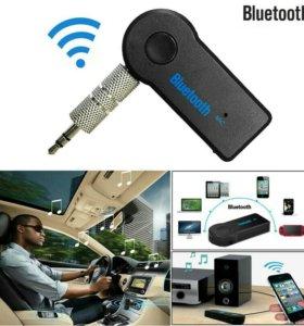 Адаптер Bluetooth AUX чёрный