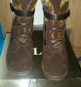 Зимние женские новые ботинки