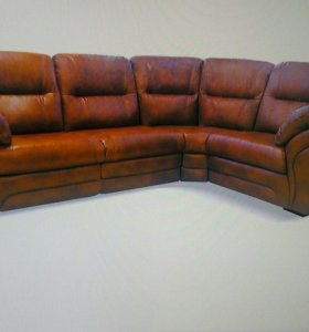 Шок цена!!! Новый кожаный диван!!!