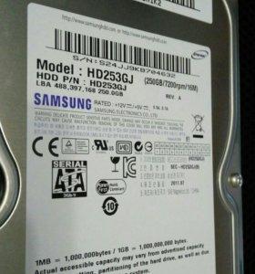 """HDD 3.5"""" 250 Gb"""