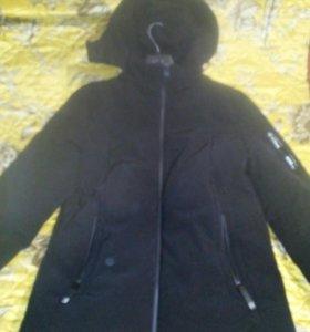 Мужской Костюм тройка. Куртка зима